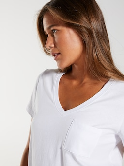 Weekend V Neck Tee