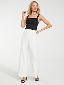 Sia Rouched Bodice Top