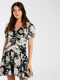 Melody Ruched Front Dress