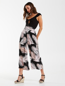 Palm Everly Crepe Culotte