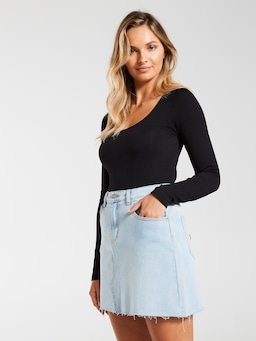 Sophia Denim Mini
