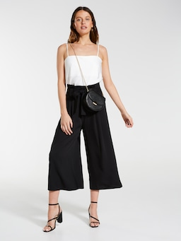 Textured Paperbag Culotte