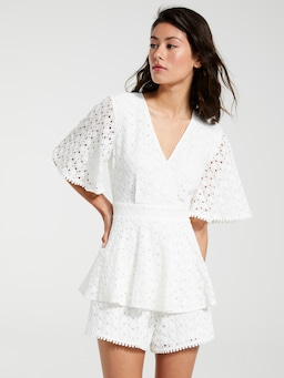 Clara Ruffle Playsuit