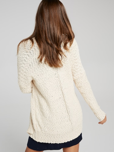 Pocketful Slub Cardigan