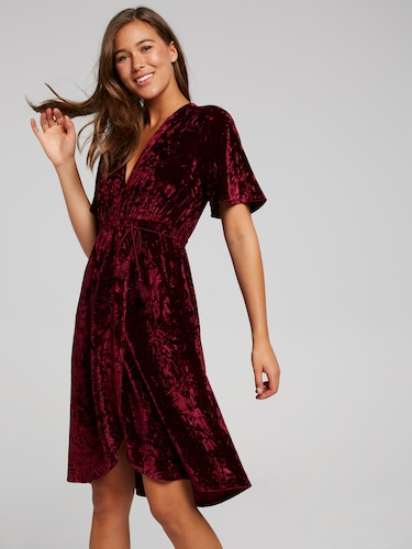 Sasha Velvet Midi Dress